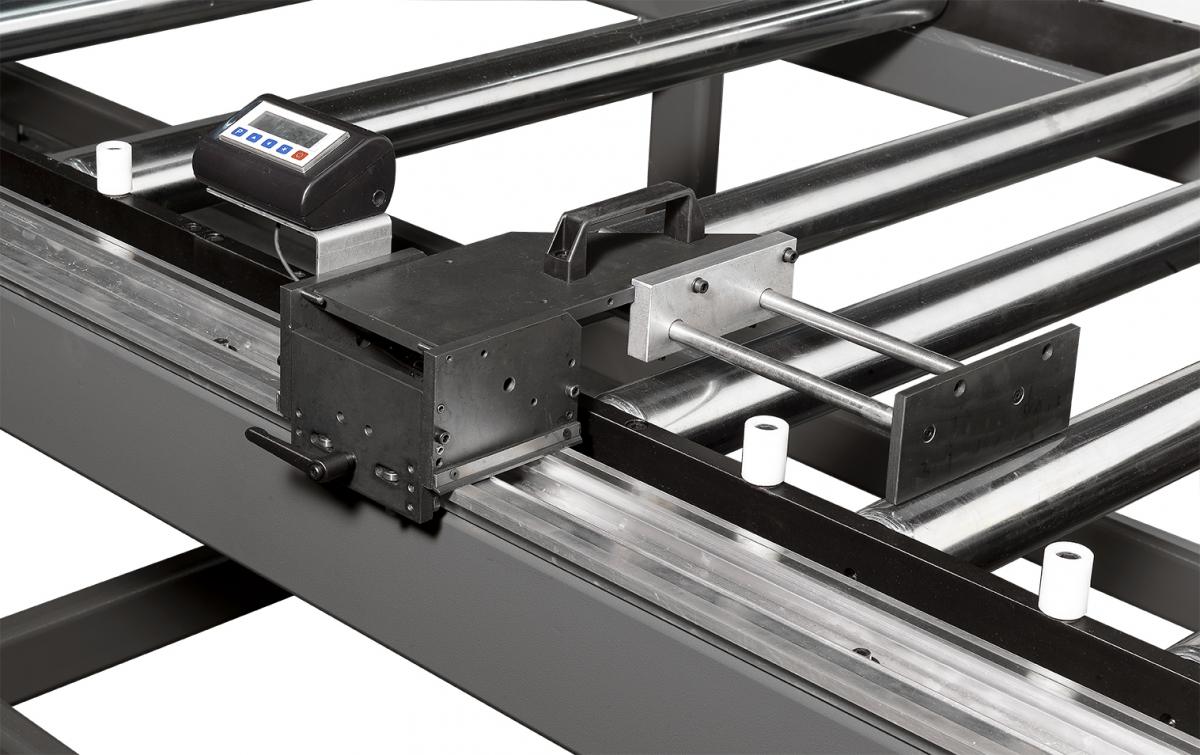riscontro mecc su profilo in alluminio e RM